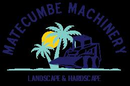 Matecumbe Machinery Landscape and hardscape logo